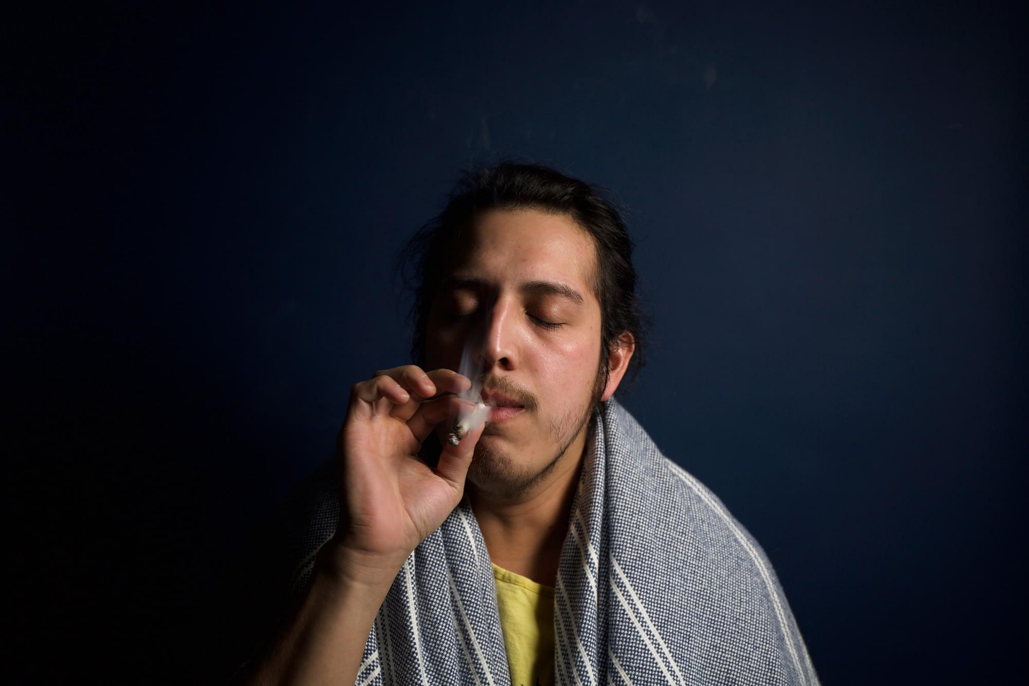smoking pot