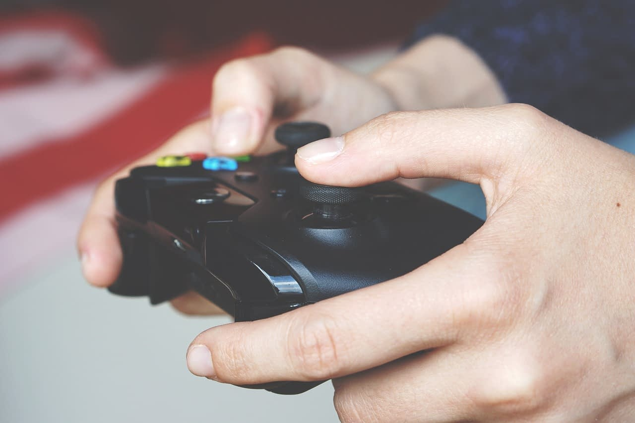 playing game